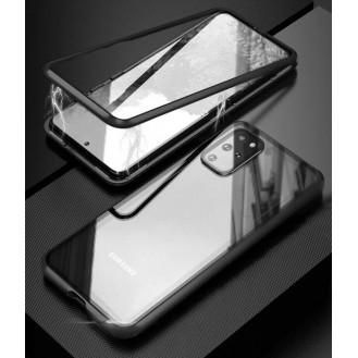 360 Grad Magnet Case Für Samsung Galaxy S20 Plus Hülle Metall Tasche Schwarz