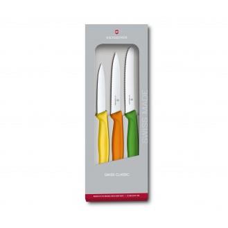 Swiss Classic Gemüsemesser-Set, 3-teilig