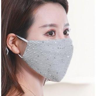 Wiederverwendbare Atemschutzmasken Waschbare Baumwolle Maske