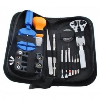 Uhrenmacher Werkzeug Reparatur Set 13-Teile Etui