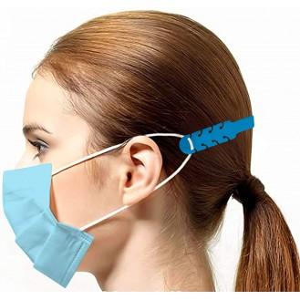 Verstellbare Maskenverlängerung Blau 10 Stück