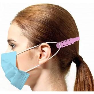 Verstellbare Maskenverlängerung Mix-Farben 10 Stück (Rosa, Schwarz. Weiss, Blau)