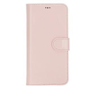 Bouletta Magnetische abnehmbare Handyhülle aus Leder mit RFID-Blocker für iPhone 12 Pro Nude Pink