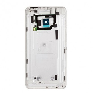 HTC One M7 - Back Cover Silber/Weiss