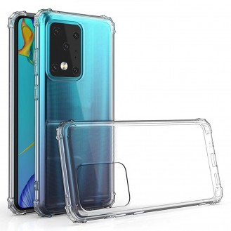 Galaxy S20 Ultra Shockproof Transparent TPU Protective Case