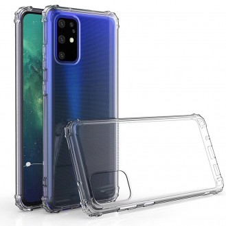 Galaxy S20 Plus Shockproof Transparent TPU Protective Case