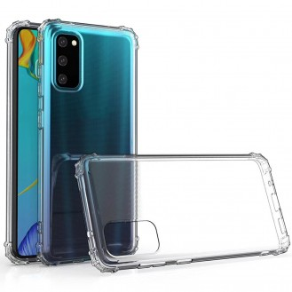 Galaxy S20 Shockproof Transparent TPU Protective Case
