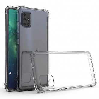 Galaxy A51 Shockproof Transparent TPU Protective Case