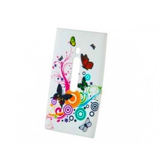 Butterfly Silikon Case Nokia Lumia N800