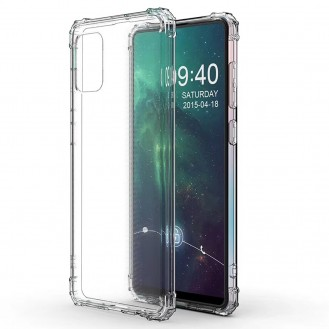 Galaxy A71 Shockproof Transparent TPU Protective Case