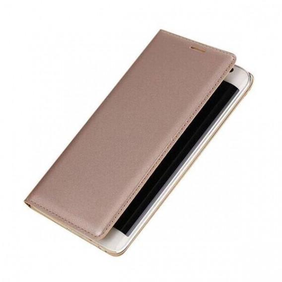 Leder Samsung Galaxy Note Edge Gold