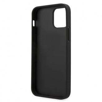 BMW - Logo Imprint - iPhone 12 mini (5.4) - Schwarz Cover Case Schutzhülle Hülle