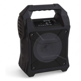 Soundlogic - 15W Party Soundanlage Bluetooth Lautsprecher LED Disco Light FM-Radio / USB / MP3