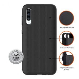 Eiger - Samsung Galaxy A50 / A30s North Case Premium Hybrid Schutzhülle (EGCA00141) - Schwarz
