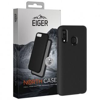 Eiger - Samsung Galaxy A20e North Case Premium Hybrid Schutzhülle (EGCA00141) - Schwarz