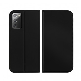 Samsung Galaxy Note 20 Ultra ISKIN Series Slight Frosted PU Hülle + TPU Case Schwarz