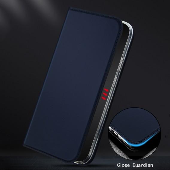 Samsung Galaxy Note 20 Ultra ISKIN Series Slight Frosted PU Hülle + TPU Case Schwarz