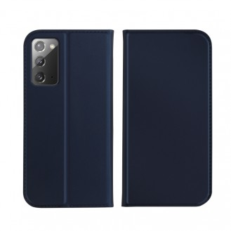 Samsung Galaxy Note 20 Ultra ISKIN Series Slight Frosted PU Hülle + TPU Case Blau