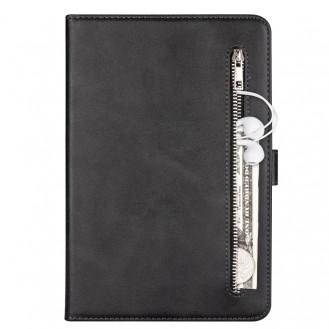 Samsung Galaxy Tab A10.1 Fashion Calf Texture Zipper Horizontal Flip Leder Case mit Stand & Card Slots