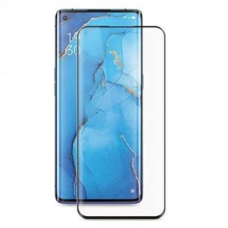 Oppo Find X2 Neo Glas Folie 5D Panzerglas Schutzglas Schwarz