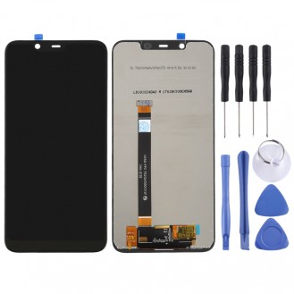 LCD Screen and Digitizer Full Assembly für Nokia 8.1 / 7.1 Plus
