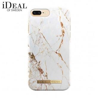 iDeal of Sweden - iPhone 8 Plus / 7 Plus / 6S Plus / 6 Plus Hardcase Hülle - Carrara Gold