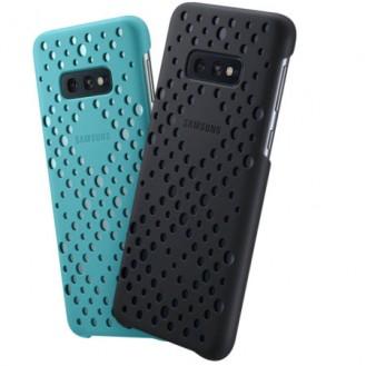 Offizielle Samsung Galaxy S10e Pattern Case- Schwarz u.Grün (2er Pack)