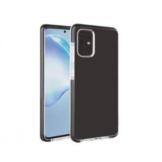 Samsung Galaxy S20 VIVANCO Rock Solid Transparent Handyhülle Case /Schwarz