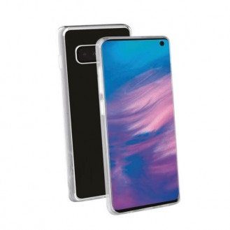 Vivanco High Quality TPU Hard Flex Backcover für Samsung Galaxy S10
