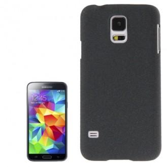 Schwarz Hard Rutschfeste Oberfläche Schutzhülle Samsung Galaxy S5