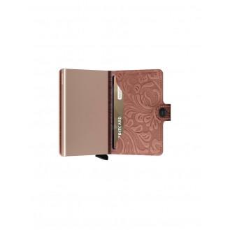 SECRID Geldbörse - Miniwallet Ornament Rosa