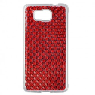 More about Samsung Galaxy Alpha Soft Bling Strass Silikon Hülle Rot