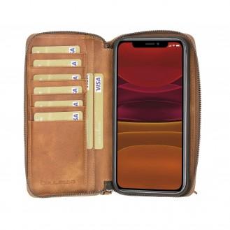 Pouch Magnetische abnehmbare Case mit RFID für iPhone 12 Pro Max 6.7
