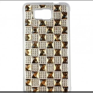 More about Samsung Galaxy Alpha Soft Bling Strass Silikon Hülle Gold