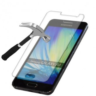 Galaxy A3 9H Panzerglas Tempered Folie Galaxy A3