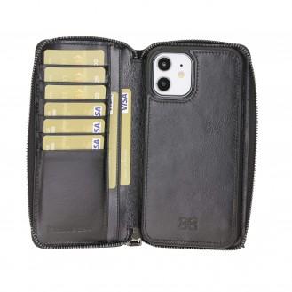 Pouch Magnetische abnehmbare Case mit RFID für iPhone 12 & Pro