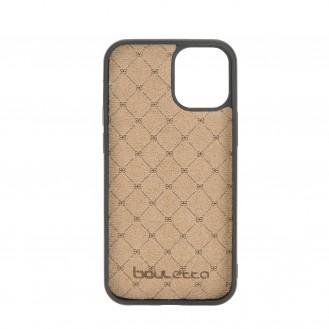 Flex Cover Back Leder Case für iPhone 12 & Pro