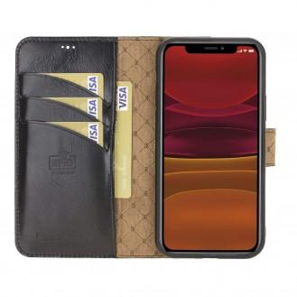 Wallet Folio Leder Case ID Slot mit RFID für iPhone 12 & Pro