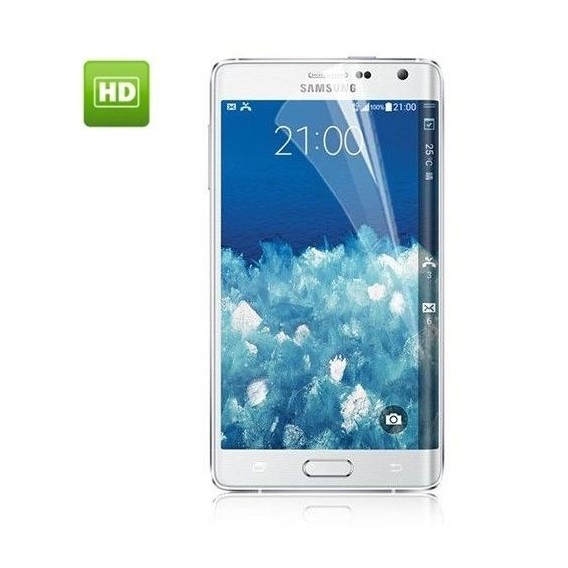 Hochglanz HD Clear Schütz Folie Samsung Galaxy Edge