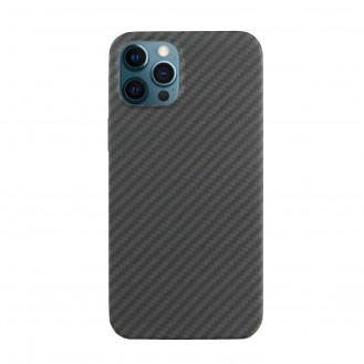 Echt Carbon Faser Volle Schutz Hülle Slim Case Für iPhone 12 / 12 Pro