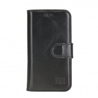 Wallet Folio Case ID Slot mit RFID für iPhone 12 mini Rustic Black