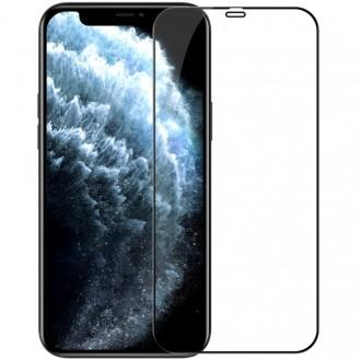 NILLKIN Hochauflösend, explosionsgeschützt und stoßfest Tempered Glass Metall Staubdichtes für iPhone 12 Pro Max