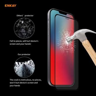 ENKAY Hat-Prince Full Glue Tempered Glass für iPhone 12 Pro Max