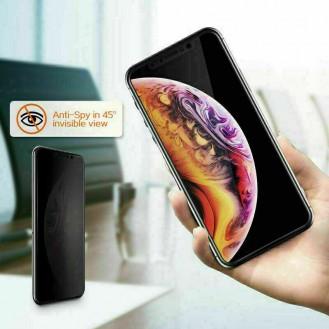 3D Sichtschutz Panzerfolie Schutzglas Blickschutz für iPhone 12 mini