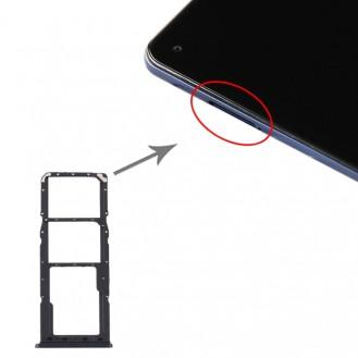 Micro SD Card Tray for Samsung Galaxy A21s Schwarz