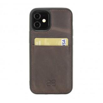 Bouletta Flex Cover Back Leder Case für iPhone 12 mini