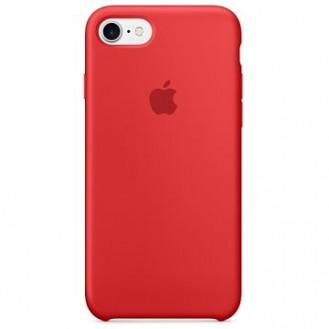 iPhone 8 /7 / iPhone SE 2020 Silikon Case Rot