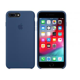 iPhone 8 Plus / 7 Plus Silicone Case Silikon Case Blau