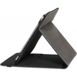 Vivanco Canvas Universal Schutzhülle für Tablet 25,4 cm (10 Zoll) Grau