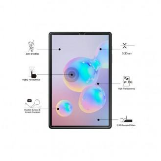 Eiger - Samsung Galaxy Tab S6 Panzer Glas Display Schutzfolie Case Friendly